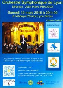 Orchestre symphonique Lyon- Liv et Lumière