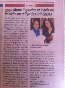Rallye des Princesses 2014 Liv et Lumière