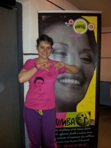 Anne-Laure, Zumba in Croix-Rousse Lyon