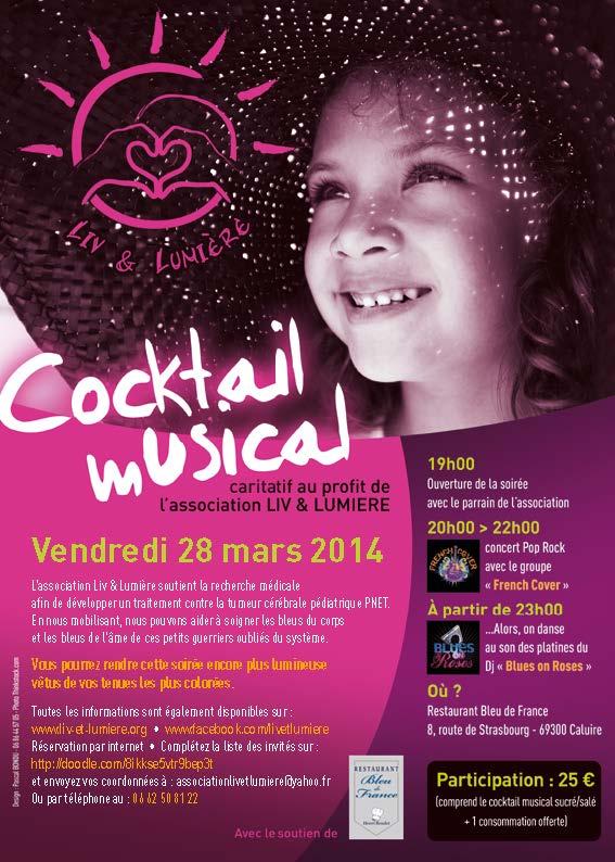 Cocktail musical Liv et Lumière