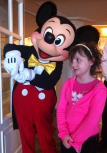 Mickey et Liv, Disneyland Paris
