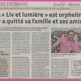 Liv et lumiere Ouest Lyonnais