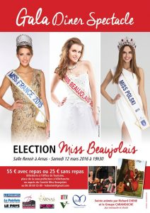 Election miss Beaujolais 2016- Liv et lumière